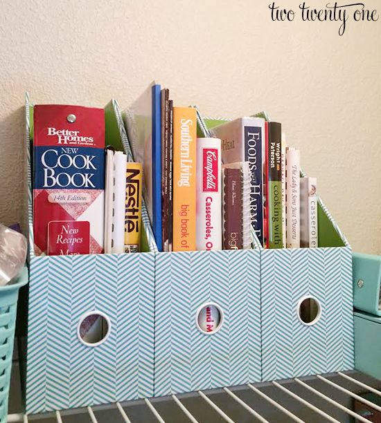 Cookbook Organization