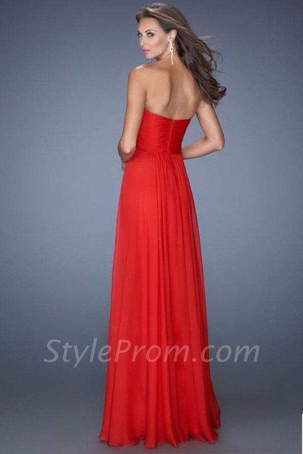 Classic Sheath/Column Sweetheart Floor-lengthProm Dress 2014 New Style
