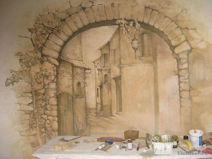«Декоративная штукатурка и фактурная роспись стен» — Артём Черников (АртДизер), виртузор специализации «Дизайнеры интерьеров»