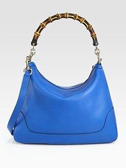 Gucci  Diana Bamboo Medium Tote and Shoulder Bag