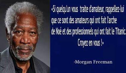 Morgan Freeman - 3 Citations