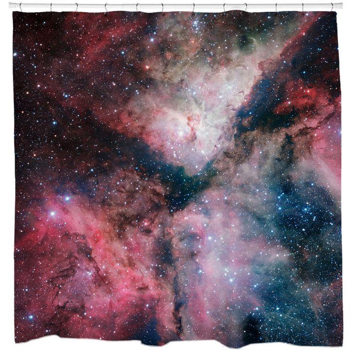 Star-Forming Carina Nebula Shower Curtain