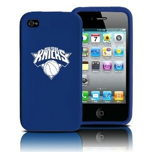 New York Knicks iPhone 4 and 4S Case: Silicone Cover --- http: