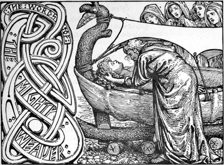 Resultado de imagen para anciano dibujo nordico mitologia
