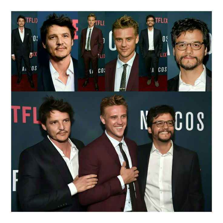 "#PedroPascal, #BoydHolbrook e #WagnerMoura na premiere da 2 temporada de 'Narcos' em Hollywood ontem à noite! (📸 Getty | FilmMagic | WireImage) • • • • • • • • • • • • • • • • • • • • • • • • • • • • •  @pascalispunk, @robertboydholbrook and #WagnerMoura in the premiere of the season 2 of ' ""Narcos"" ' in Hollywood last night! (📸 Getty 