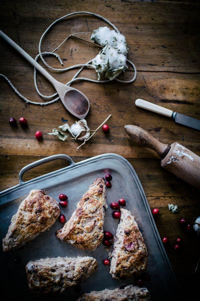 Milk | roasted pear & cranberry chocolate chunk scones Chunk Scones ...