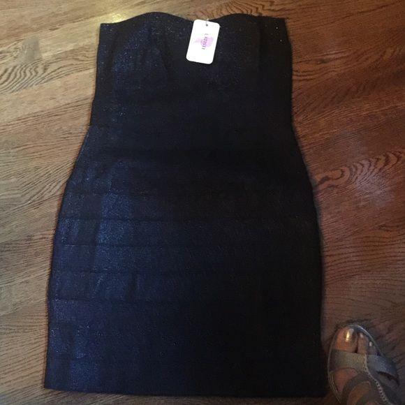 LBD dress Metallic short dress Latiste Dresses Mini