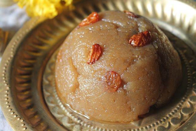 This recipe has been in my mind for quite a long time..It is also called as Gothumai Halwa, Wheat Flour Halwa also..This recipe is a bas...