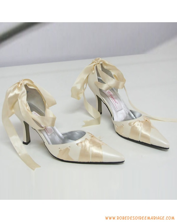 Chaussures de mariée à talons 3.15 pouces