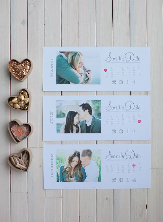 20 DIY Wedding Ideas - FREE Printable Save The Date Cards!