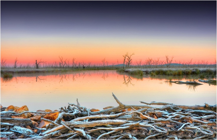 Winton-Lagoon-Winter-Dawn. Ian Rolfe Photography.