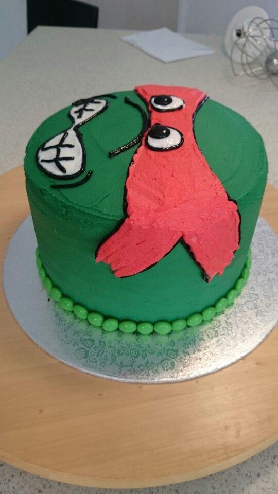 Side view Raph cake