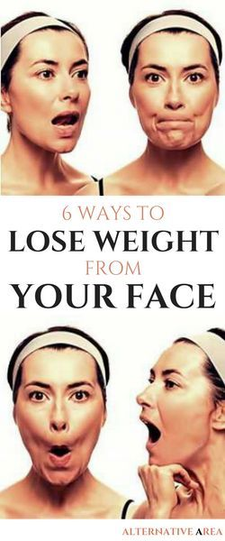 Ways to Lose Weight from Your Face Fast