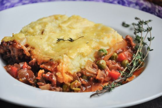 Traditional Irish Shepherds Pie Recipe - Food.com Good with Faux Beef to make it vegetarian.