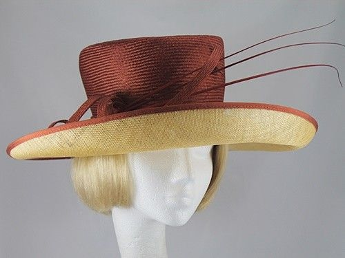 Latest Items: Country Casuals Russet and Toffee Wedding hat (Price: £49.99)