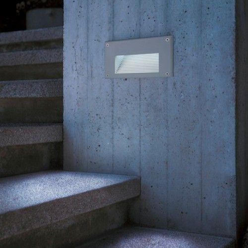 Brick Led Downunder Outdoor Recessed Wall Light Bricks Exterior Wall Light And Face Design
