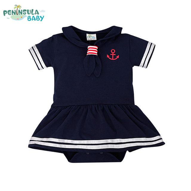 Good price Baby Rompers Hot Sale Casual Newborn Navy Style Clothing Baby Boy Girl Romper Summer Short-Sleeve Sailor Clothes just only $9.89 with free shipping worldwide  #babyboysclothing Plese click on picture to see our special price for you