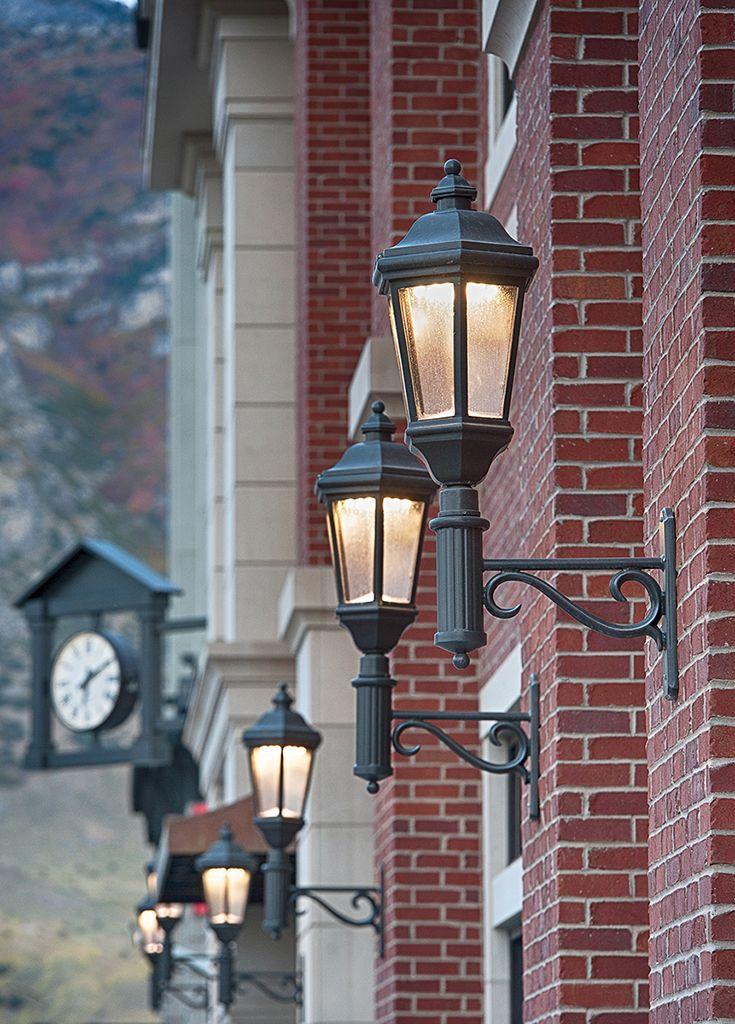 decorative site lighting architectural luminaire street wall mount pedestrian, LED ANP;