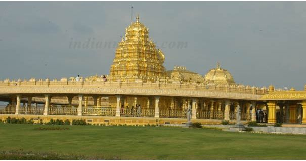Sripuram Golden Temple, Vellore, Tamil Nadu, India