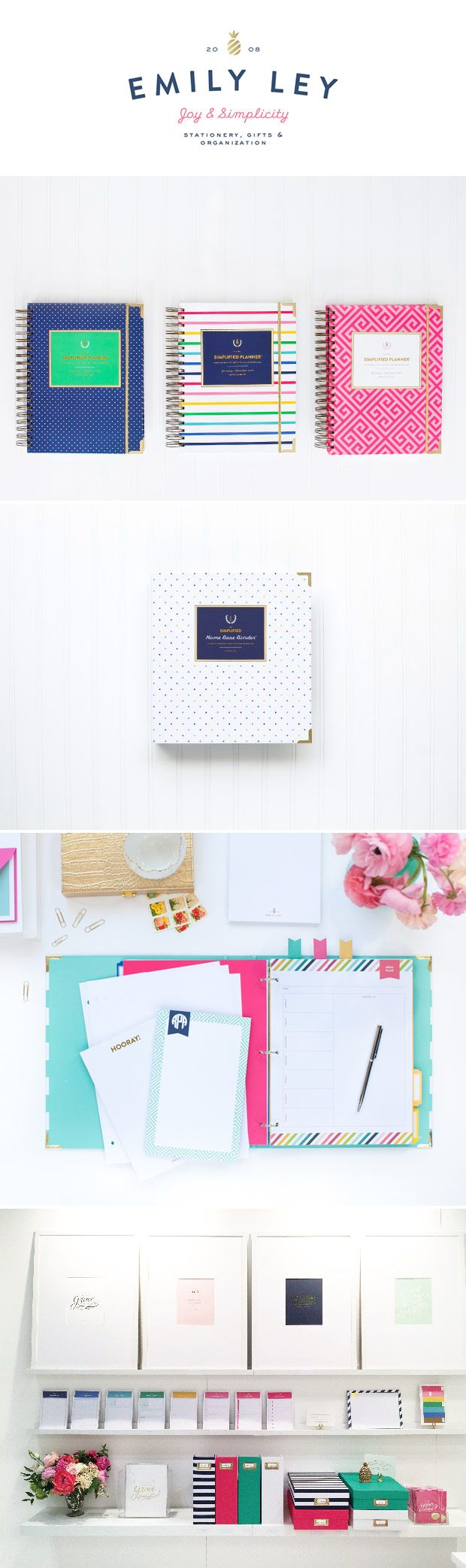 Emily Ley stationery, gifts  organization.
