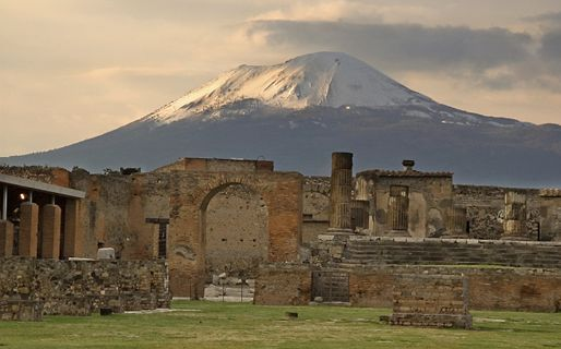Pompei & volcano Vesuvius