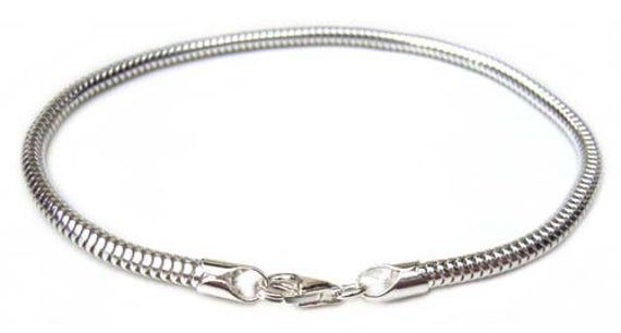 Jewelry Best Seller Sterling Silver 1.6mm Round Snake Chain