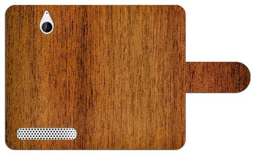 Sony Xperia E1 Uniek Ontworpen Design Hoesje Wood  Sony Xperia E1 uniek design boekhoesje met opbergvakjes. Door dit beschermhoesje heb je geen krassen deukjes of andere mogelijke beschadigingen aan je telefoon. Het hoesje is gemaakt van hoge kwaliteit PU-leder en heeft een plastic case. Deze case is speciaal voor de Xperia E1 gemaakt zodat je toestel er veilig en stevig in past. In de case zijn uitsparingen gemaakt zodat alle knoppen en poorten van je telefoon altijd te gebruiken blijven…