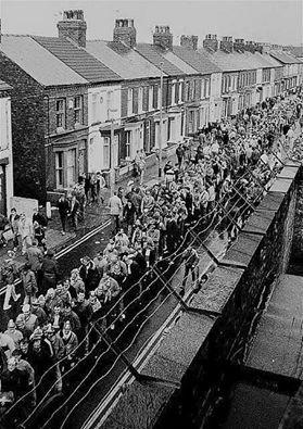 Classic pic of Gwladys Street!
