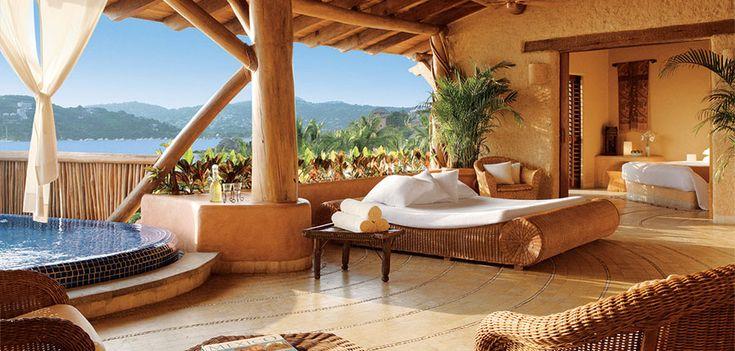 Romantic, secluded honeymoon resorts