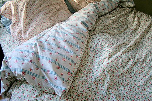 How-To: Duvet Cover from Sheets