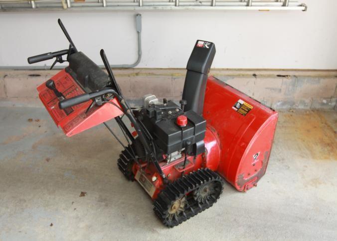 mtd yard machine snow blower