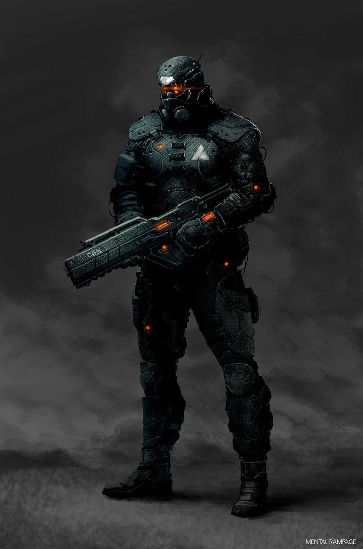 Risultati immagini per sci fi body armor | Rigel ...