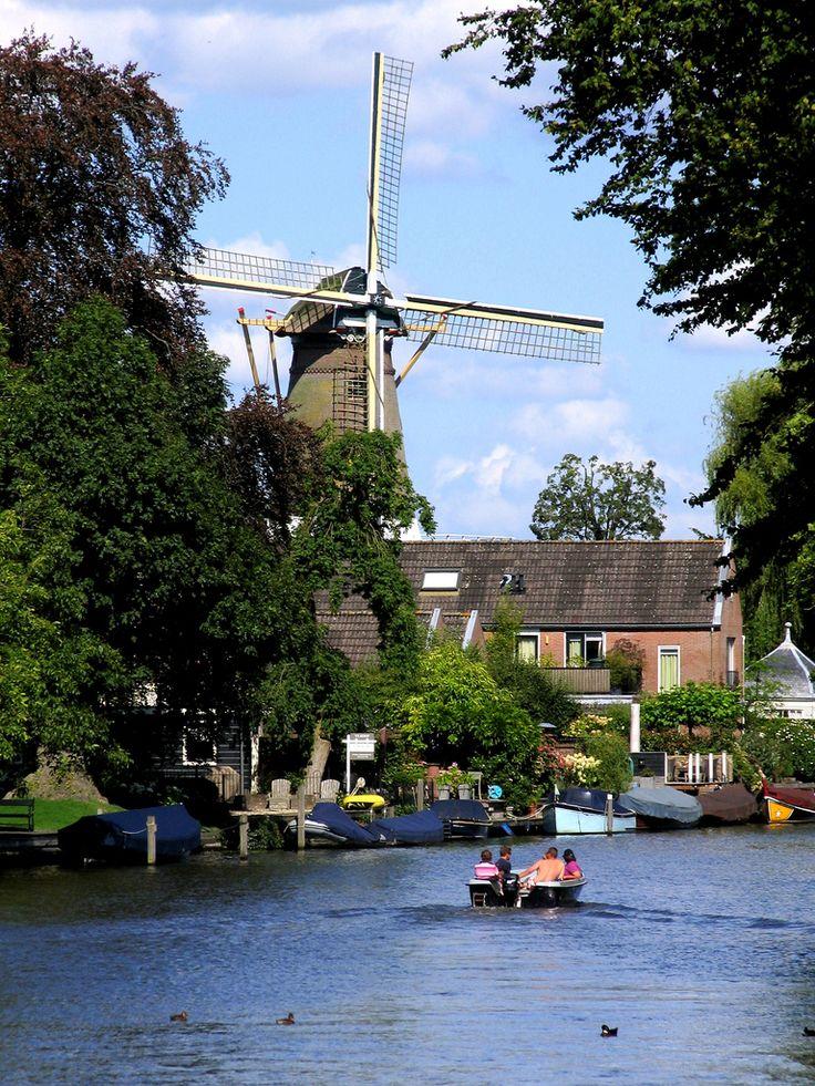 Loenen aan de Vecht, Utrecht. The Netherlands