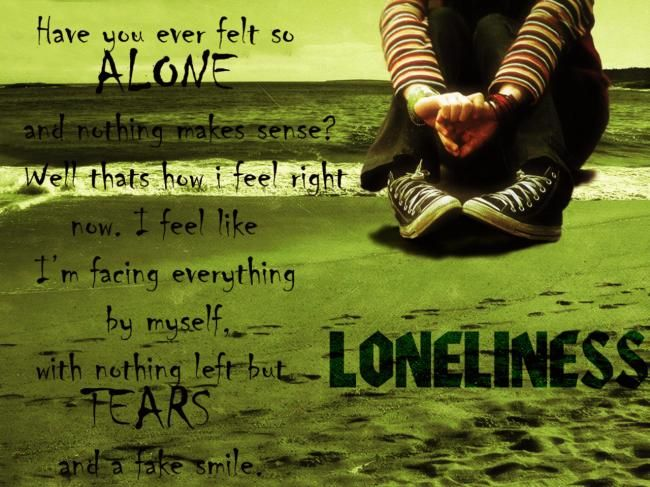 lonely guy quotes | Lonely Poster - Jackie | Sad Picture | Lover of Sadness