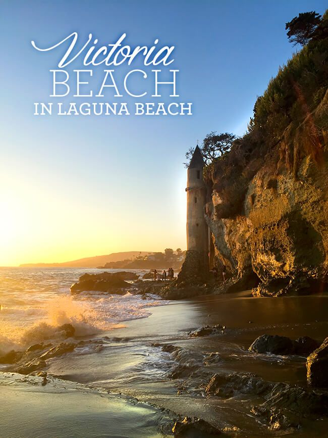 Laguna Beach. home to some of the most beautiful Southern California beaches you can see, and Victoria Beach is one of them. nestled between cliffs and upscale beach homes, Victoria Beach is one of the hidden gems of Orange County. many refer to this beach as having a Rapunzel's Castle or a Pirate Tower. and as you Read More...