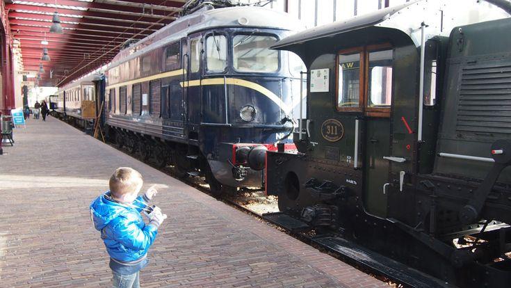 Het Spoorwegmuseum is een van de leukste musea om met kinderen heen te gaan.