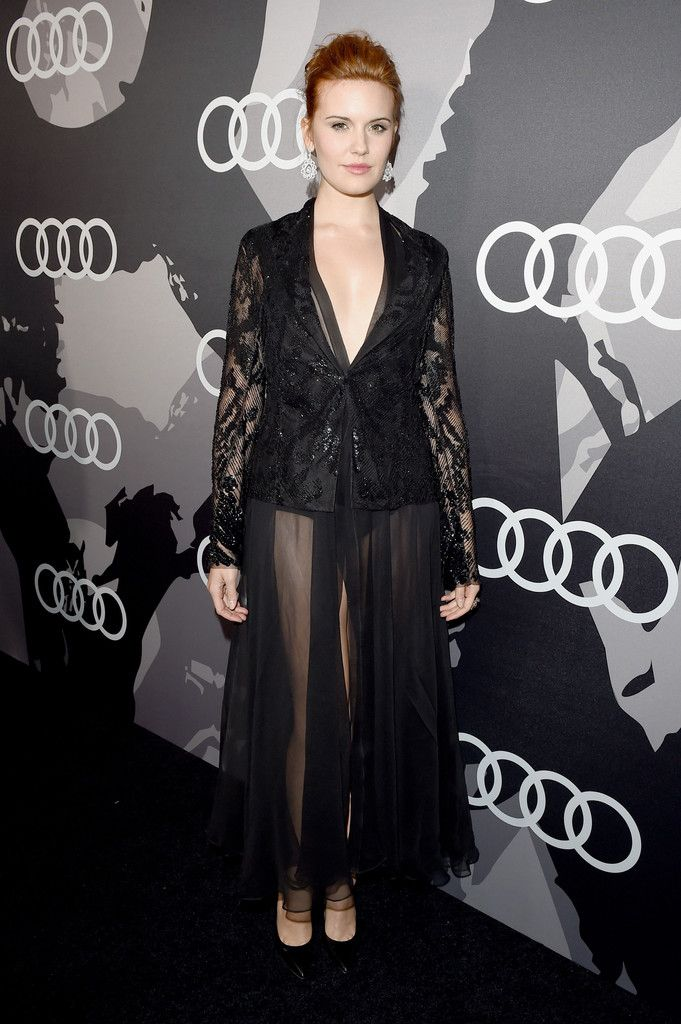 Audi Celebrates Golden Globes Week 2015 - Maggie Grace