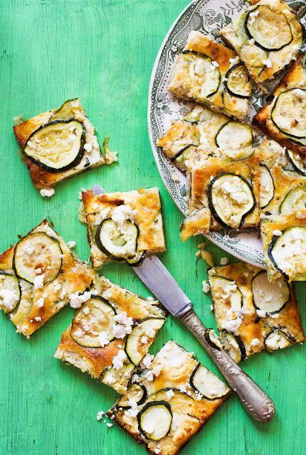Mézesélet: Cukkinis frittata feta sajttal