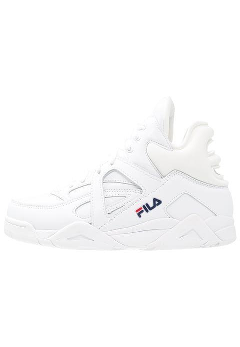 CAGE L MID Baskets montantes white