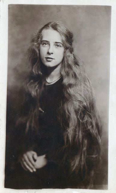 Long Hair - Vintage portrait