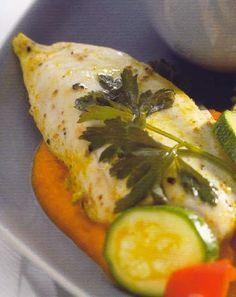 Receitas para a Dieta dos 31 Dias com a Bimby: Frango marinado com legumes de Verão