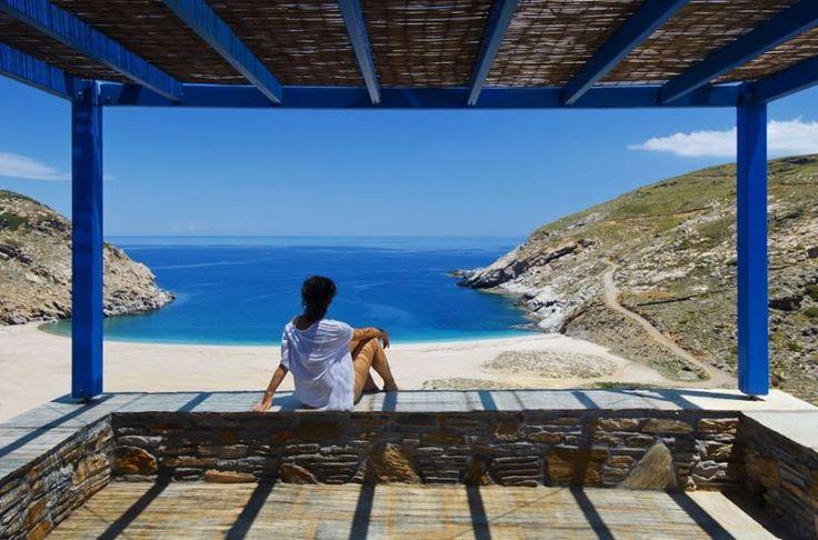 Aegea Blue Cycladic Resort- View to Zorgos Beach