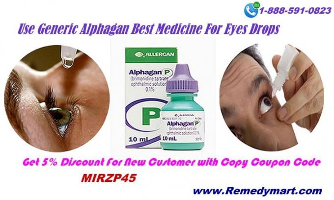 Are you searching for a right treatment for eye disorders then here is the best solution for your eye disorders. Use generic Alphagan and see the difference.