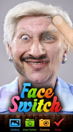 Face Switch - Freaky Face-Morphing Photo App (Video)