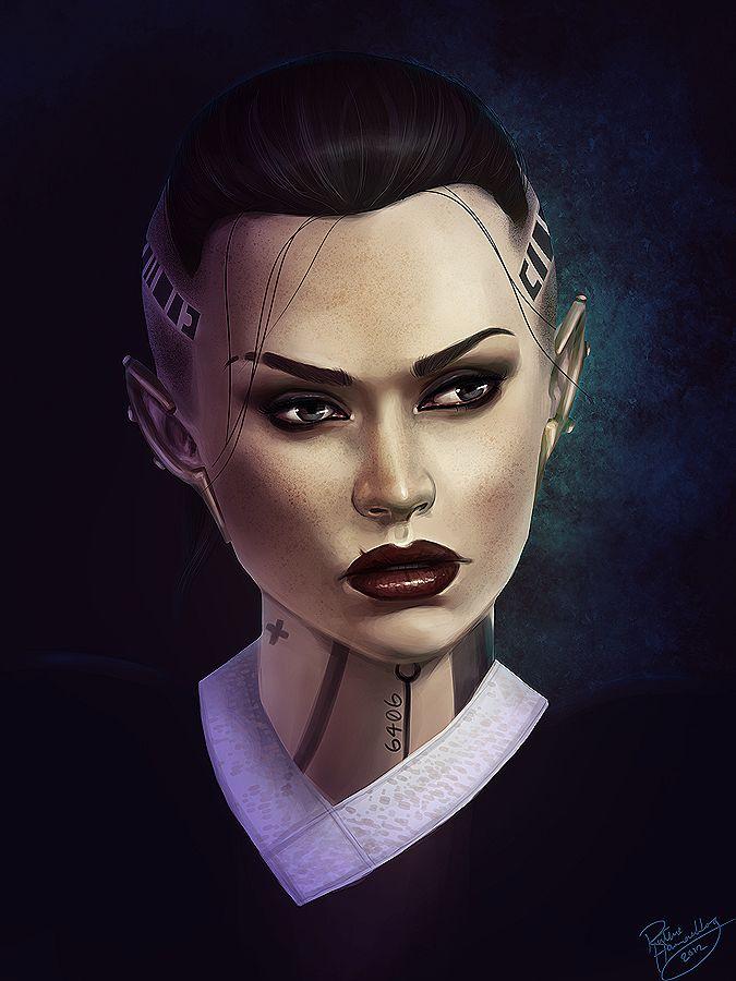 Mass Effect: Jack 2 by *ruthieee on deviantART #MassEffect #Jack
