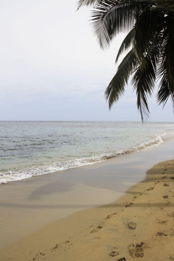 Morgens am in Purteo Viejo am Strand Punta Uva... es war still und es war traumhaft
