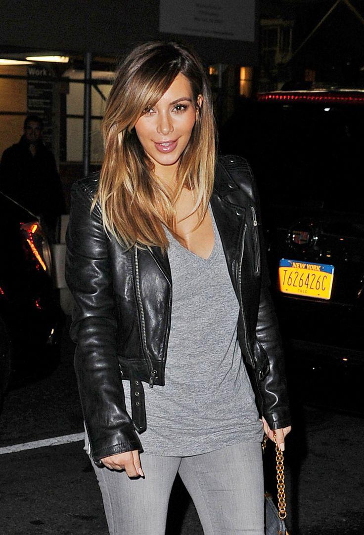 Caramel Hair Color Kim Kardashian Caramel Blonde Hair Color Kim