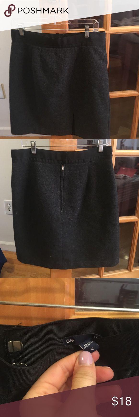 Selling this Gap Wool blend skirt sz 12 on Poshmark! My username is: msull15. #shopmycloset #poshmark #fashion #shopping #style #forsale #GAP #Dresses & Skirts