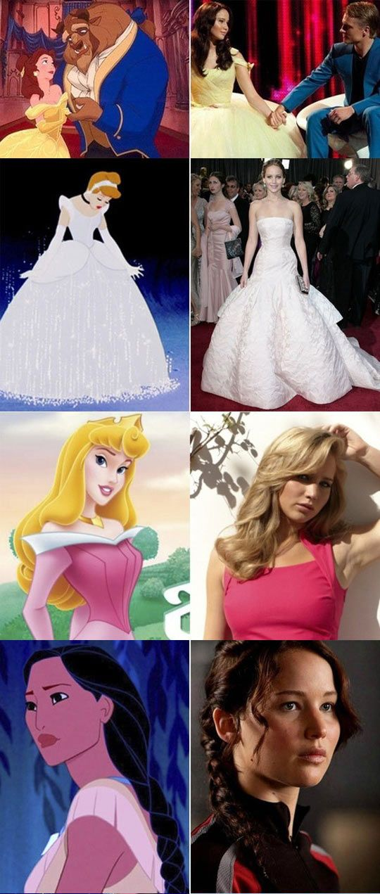 She would make a great Disney princess