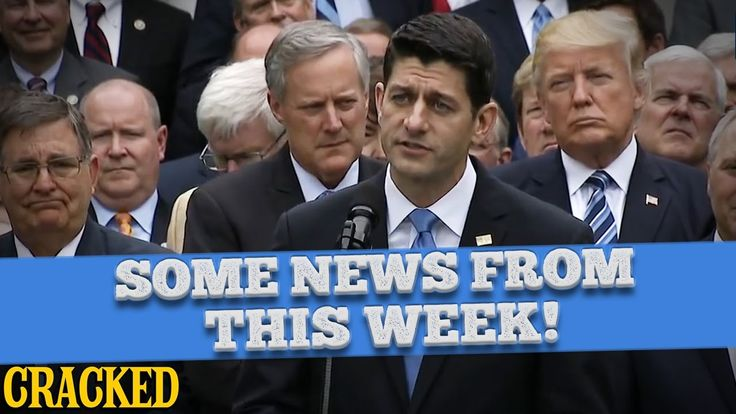 Congress Repeals OBAMACARE, Internet Puts Up FAKE NEWS (And More News Fr...